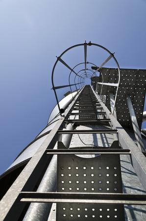 personal perspective: Personal perspective to the Safety metal ladder