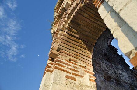 Church of St. John Aliturgetos, Old town of Nesebar, Bulgaria, Bulgarian Black Sea Coast.  photo