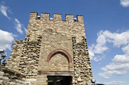 Main gate of Tsarevets fortress, Veliko Tarnovo, Bulgaria Stock Photo