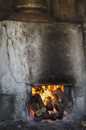 Traditional Bulgarian distillery for making Rakia brandy