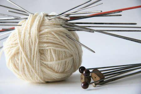 Colored yarn ball Stock Photo - 6965592