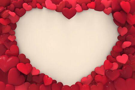 Love Hearts Design Stock Photo - 16864316