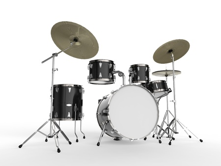 drums: Drum Kit Stock Photo