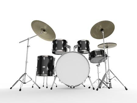 drum kit: Drum Kit Stock Photo