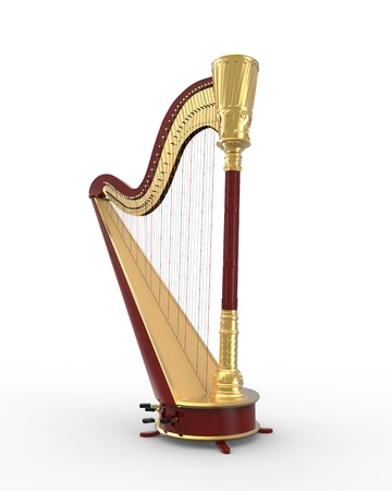 instruments de musique: Harpe Instrument de musique