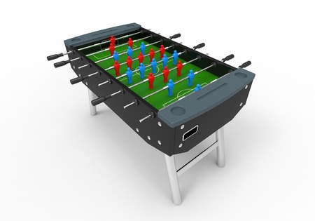 Foosball Soccer Table Game photo