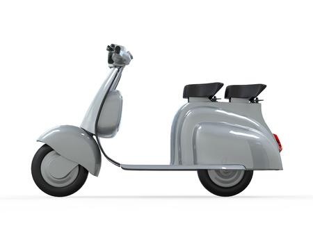 vespa piaggio: Old Vintage Scooter