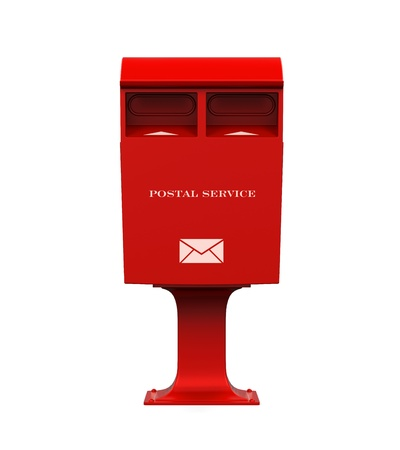 Red Mail Box photo