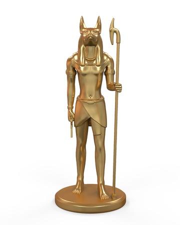 loincloth: Egyptian Anubis Statue