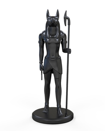 Egyptian Anubis Statue photo