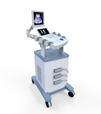 Medical Ultrasound Diagnostic Machine Stock Photo - 19560262