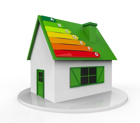 energy consumption: House with Energy Efficiency Levels