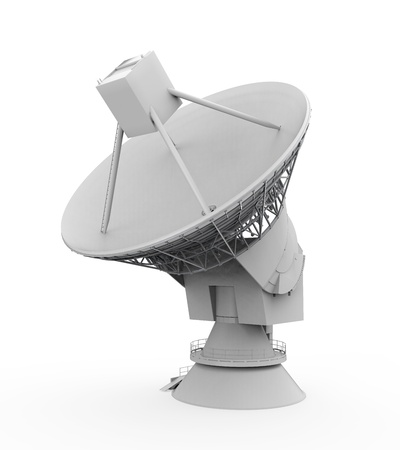airwaves: Satellite Dish Antenna Stock Photo