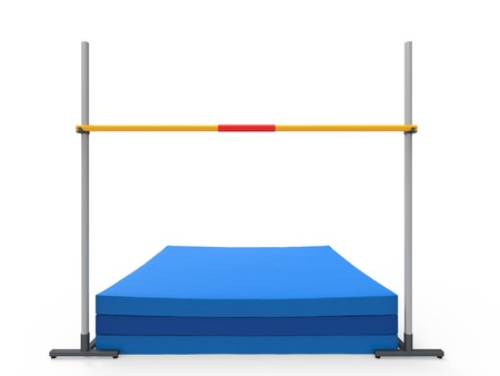the high: High Jump Landing Mat