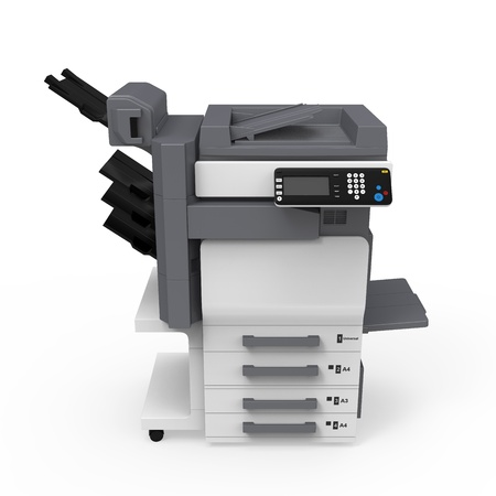 fotocopiadora: Oficina Impresora multifunción Foto de archivo