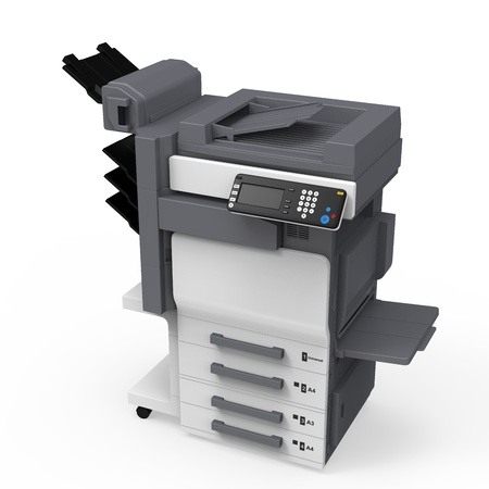 Kantoor multifunctionele printer Stockfoto