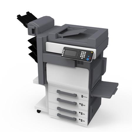 impresora: Oficina Impresora multifunción Foto de archivo