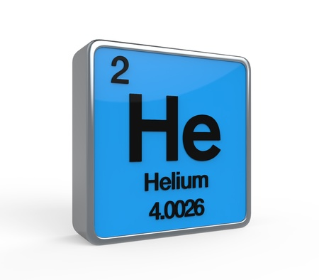 hidrógeno: Helium Element Tabla Periódica Foto de archivo