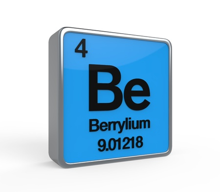 Berrylium Element Periodic Table photo