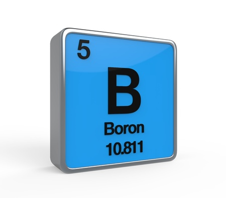 Boron Element Periodic Table photo