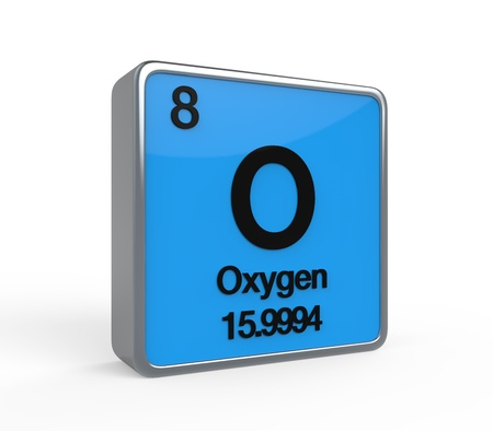 Oxygen Element Periodic Table photo