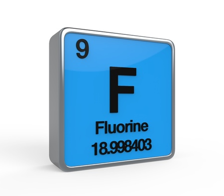 Fluorine Element Periodic Table photo
