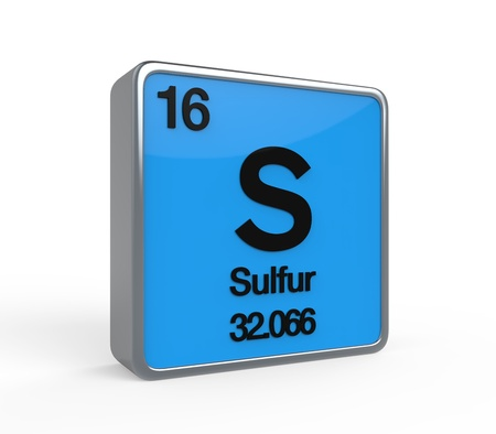 Sulfur Element Periodic Table photo