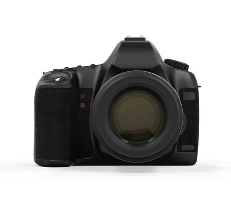 Digital SLR Camera Isolated photo