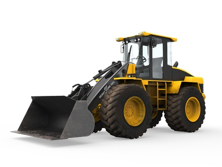 Wheel Loader Bulldozer Stock Photo - 20754300