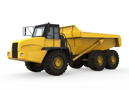 volteo: Dump Truck Aislado