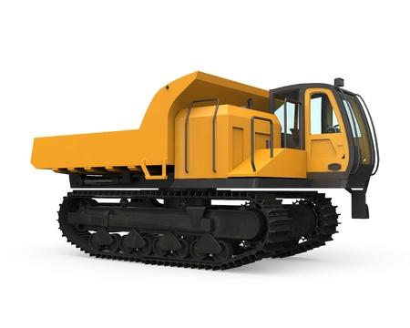 crawler: Rubber Track Crawler Carrier