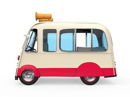 truck isolated: Ice Cream Truck