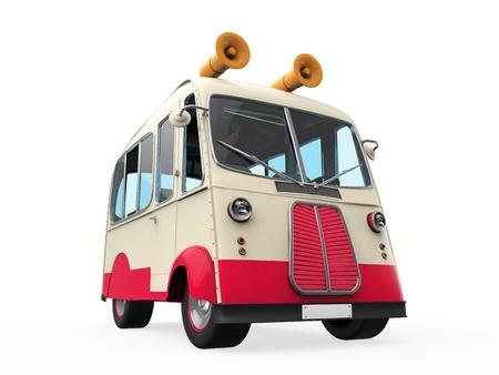 cargo van: Ice Cream Truck