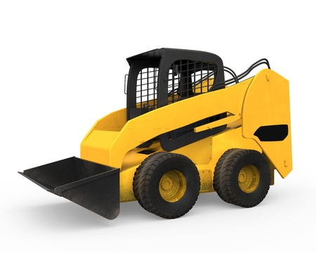 Skid Steer Loader Stock Photo - 20918807