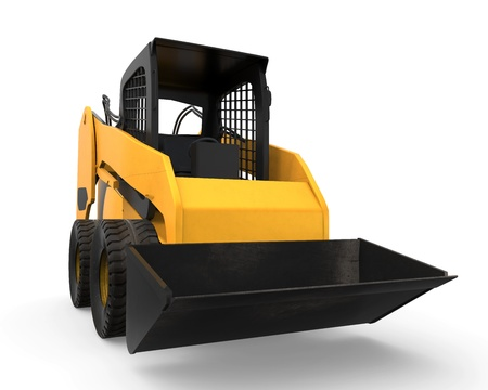 wheel loader: Skid Steer Loader