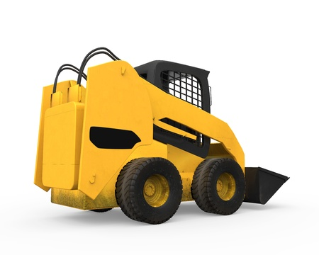 Skid Steer Loader Stock Photo - 20918810