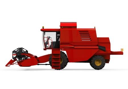 Combine Harvester Isolated Stock Photo - 20918888