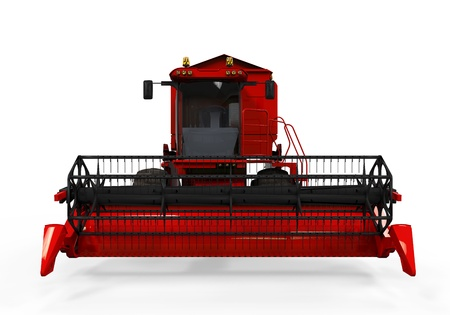 Combine Harvester Isolated Stock Photo - 20918890