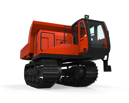 Rubber Track Crawler Carrier photo