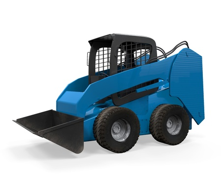 Skid Steer Loader Stock Photo - 21133672