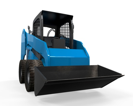 Skid Steer Loader Stock Photo - 21133674
