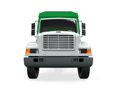 volteo: Garbage Truck aislada