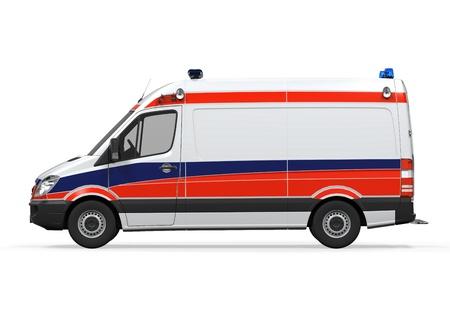 ambulance emergency: Ambulance Isolated Stock Photo