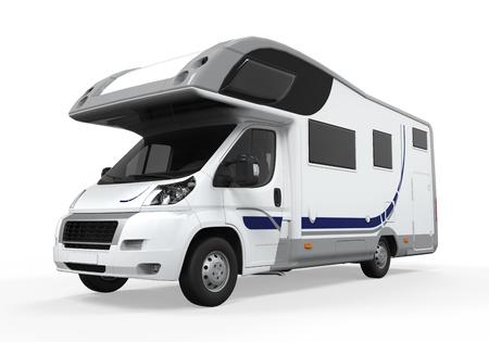 motorhome: Camper Van Isolated