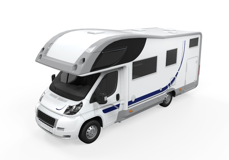 caravan: Camper Van Isolated