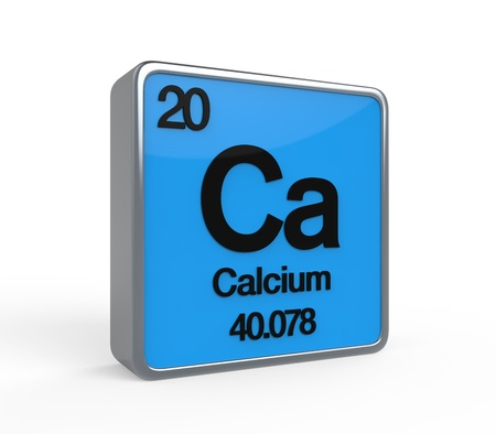 Calcium Element Periodic Table Stock Photo - 21700929