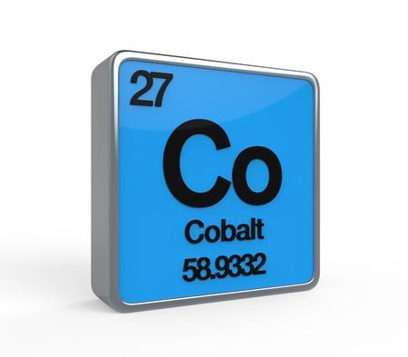 Cobalt Element Periodic Table photo