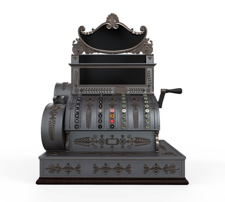 cash register: Vintage Cash Register