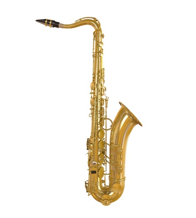 Saxophone Isolated Stock Photo - 21959755