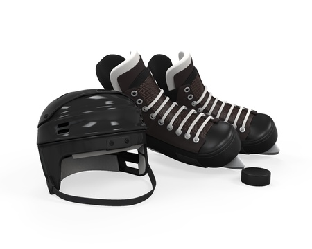 Ice Hockey Equipment photo